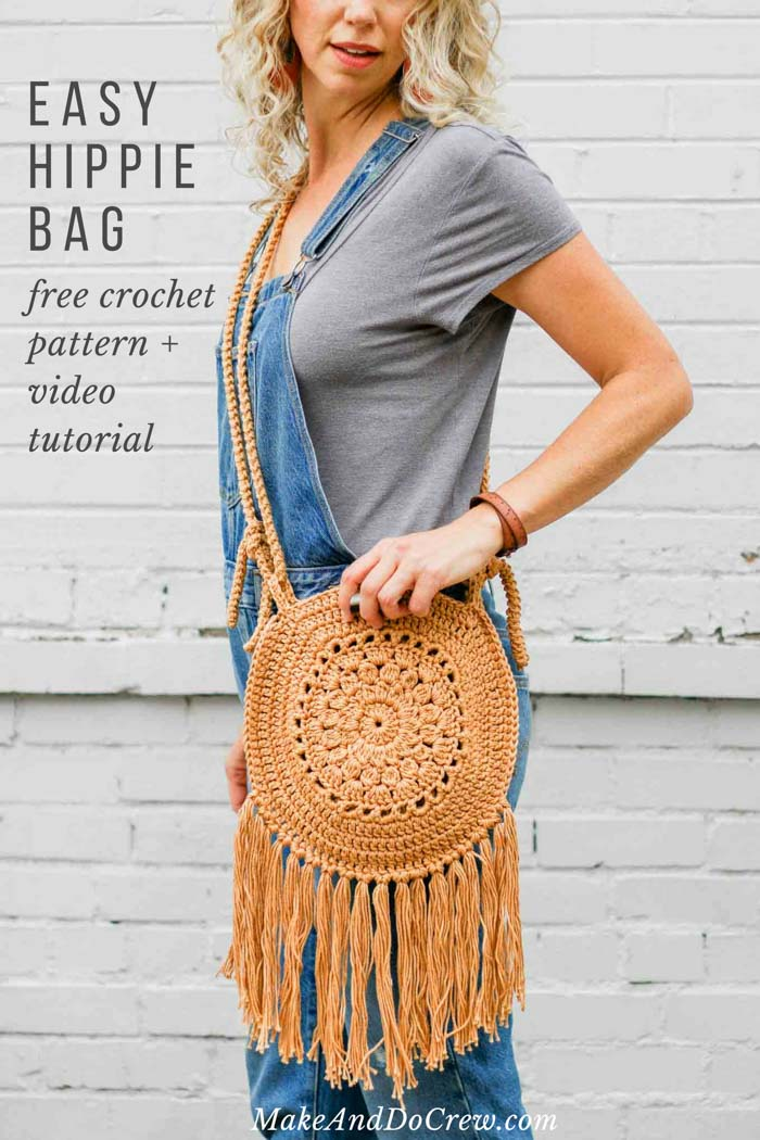 d8dd4bd130176 STREET FAIR CROCHET BOHO PURSE – FREE PATTERN